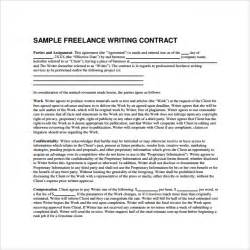 freelance contract template 9 free samples examples
