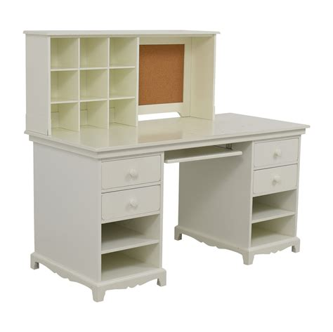 Pottery Barn Desks White by 55 Pottery Barn Pottery Barn White Desk With Cubby