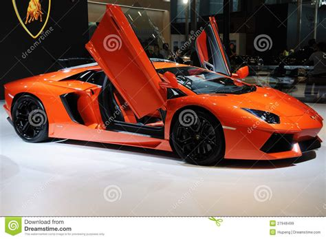 Lamborghini Italy Italy Lamborghini Aventador Lp 700 4 Editorial Stock Image