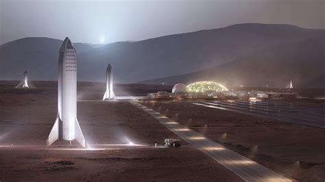 Mars Space mars spacex