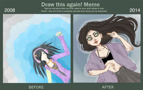 How To Draw An Owl Meme - draw this again meme by owl bones on deviantart