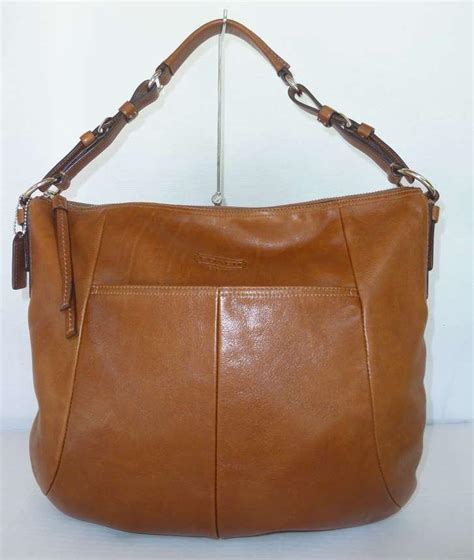 Authentic Coach Backpack Cus 3 authentic coach brown leather large hobo shoulder bag 12684 ebay