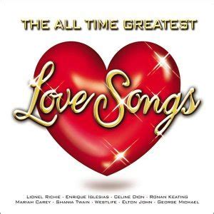 Various Artists All Time Greatest Love Songs Amazon
