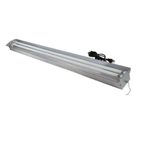 6 Ft Fluorescent Light Fixture Homeselects 4 Ft 2 L 54 Watt Aluminum Fluorescent Grow Light Fixture With Ls 6292 The