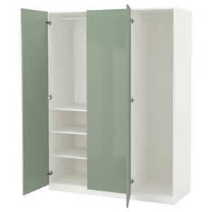 ikea botne wardrobe pax wardrobe white fardal high gloss light green