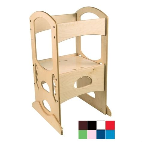 Toddler With Stool by Child Step Stool With Rails Woodworking Projects Plans