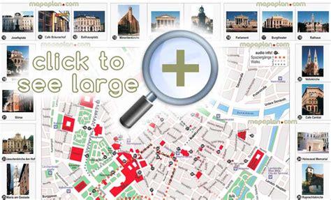 maps update 1024724 vienna travel map vienna city map