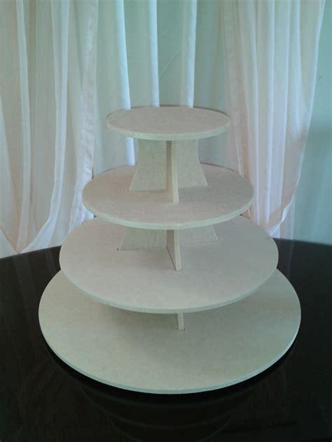 Muebles De Madera En Crudo #8: Base-para-ponquesitos-cupcakes-en-mdf-crudo-4-pisos-D_NQ_NP_416001-MLV20253766390_032015-F.jpg