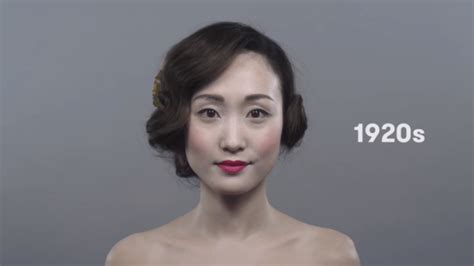 100 years hairstyle images 100 years of japanese women s hair and makeup trends in