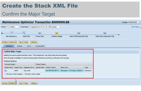 create xml how to create stack xml file screens step by step