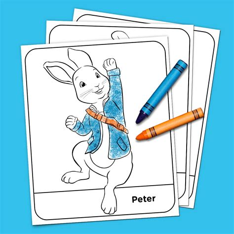 peter rabbit coloring pages nick jr peter rabbit coloring pack nickelodeon parents