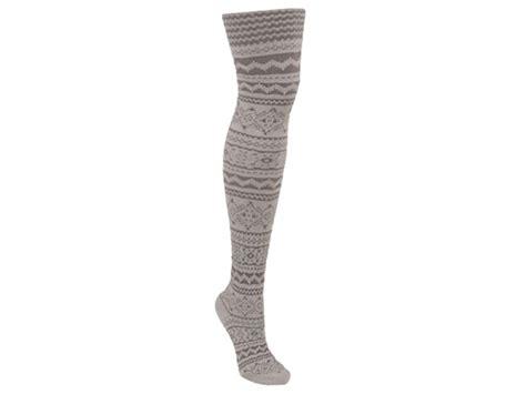 microfiber patterned tights muk luks 174 patterned microfiber tights