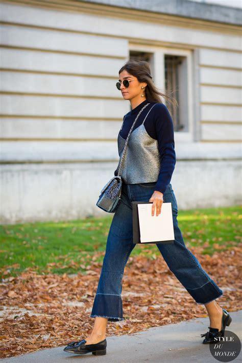 juliana styles paris fashion week ss 2016 street style juliana salazar
