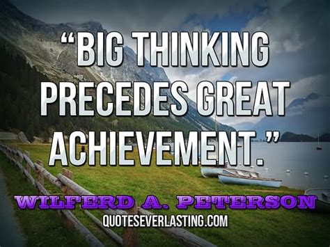 Essay On Big Thinking Precedes Great Achievement by Think Big Quotes Askideas