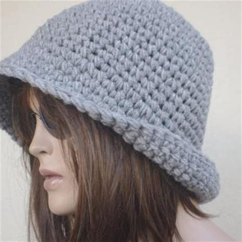Fedorafashion Brindle Knit womens fedora hat chunky knit slouchy gray beanie slouch