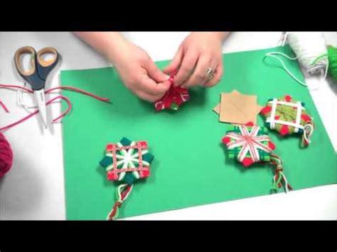 simple handmade christmas ornament youtube