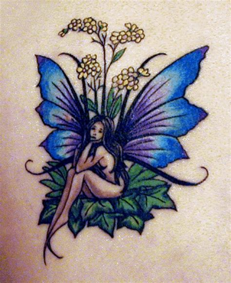 black fairy tattoo designs and sweet or and devious ideas