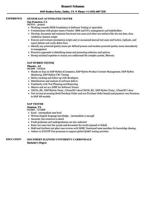 pretty sap wm testing resume contemporary resume ideas