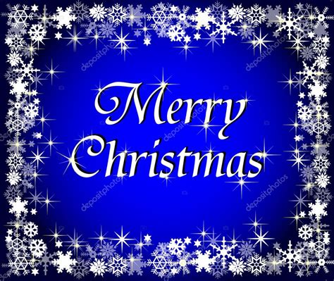 blue merry christmas background stock photo  pdesign