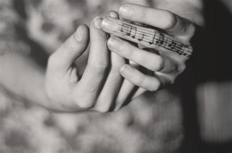 finger tattoo music note black and white hands music note photography image