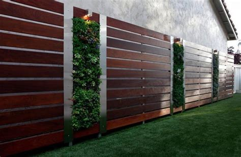 Modern Garden Fencing Ideas Beautiful Fence Designs Blending Various Materials For Unique Modern Walls