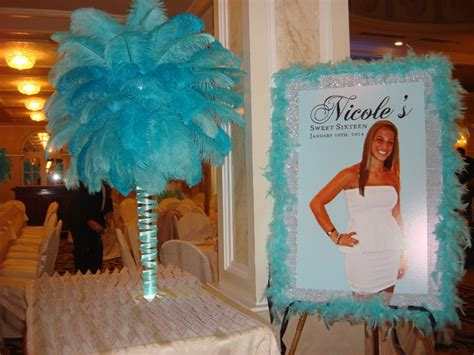 sweet sixteen theme on pinterest 41 pins tiffany themed poster board my princess quince pinterest