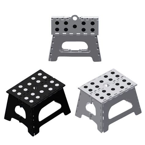 White Plastic Stool by Shop 1 Step Black White Plastic Step Stool At Lowes