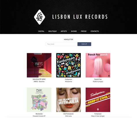 Best Site For Records Website Design Inspiration Best Record Label