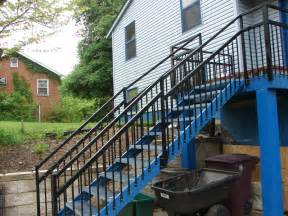 outside steps outdoor stair stringers by fast stairs com
