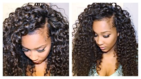 hairstyles to make extensions look real how to blend your leave out with curly hair extensions