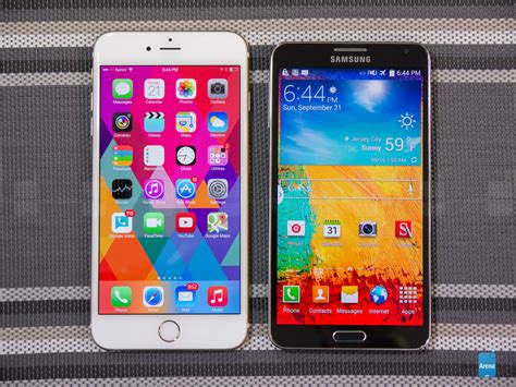3 Iphone 6 Plus apple iphone 6 plus vs samsung galaxy note 3
