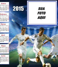 Calendario Real Madrid 2015 Calend 225 2015 Do Real Madrid Para Personalizar Sua