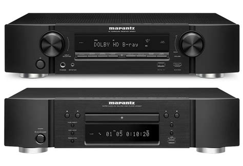 Marantzs Dv7001 Dvd Player Upscales To Hd by Marantz Nr 1604 Slim Line 7 1 Network Receiver