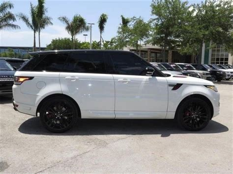 land rover white black rims range rover sport white with black rims pixshark com