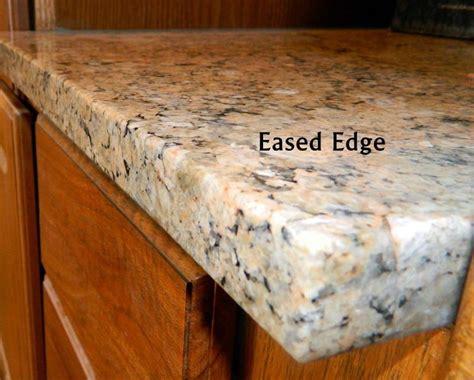 eased edge standard eased edge granite edge profiles