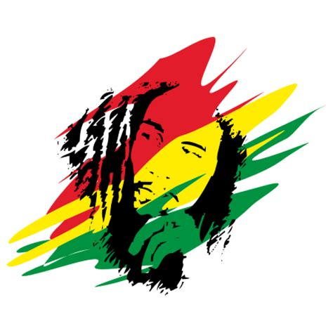 design logo reggae bob marley logo clipart best