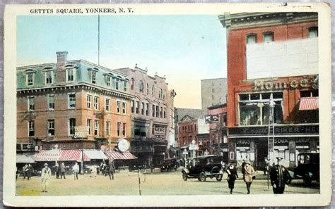 yonkers ny antique gettys square yonkers ny postcard signs by oakwoodview