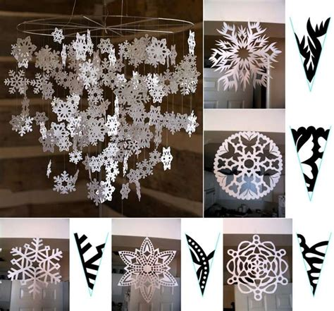 Make Paper Snowflakes For Decorations - 10 amazing decoration ideas using paper snowflakes