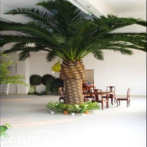 outdoor large artificial palm tree sale plastic palm tree