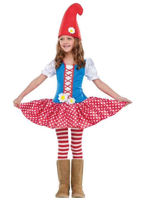 revealing little girl halloween costumes toddler gnome girl costume