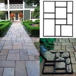 topeakmart garden concrete paving pathway patio path brick