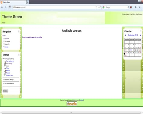 moodle theme directory variable moodle plugins directory green