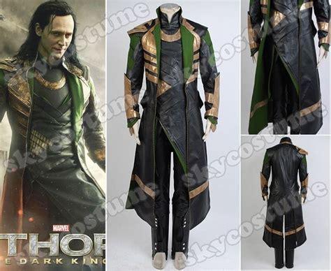 movie quality thor costume thor the dark world loki long coat whole set movie cosplay