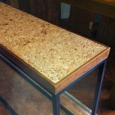 wine cork table top resin table top with small branches could use wine corks and