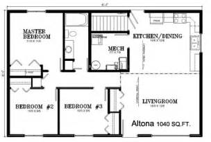 Deneschuk Homes Ltd Ready To Move Rtm Altona Home Plan 1300 Sq Ft House Plans 2 Story Kerala