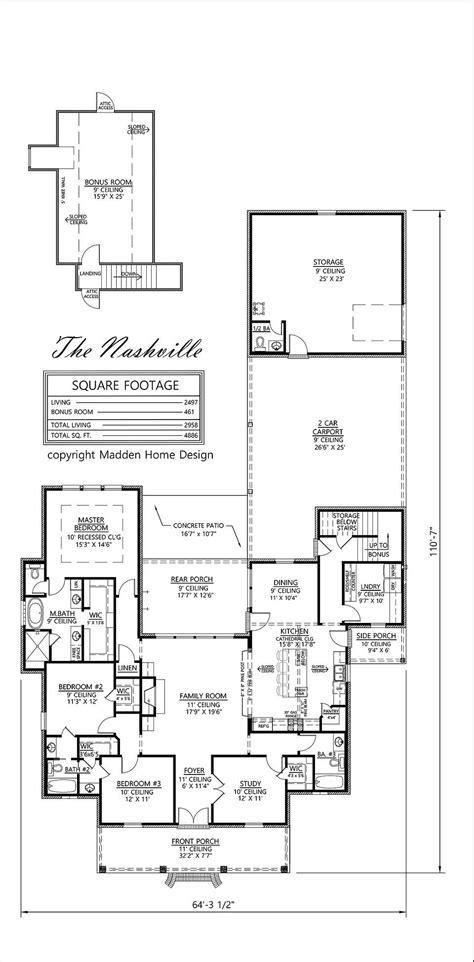 Madden Home Design Nashville   madden home design the nashville house plans