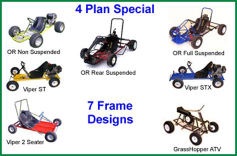 atv frame design download diy go kart plans go kart designs