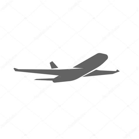 imagenes vectoriales de aviones avi 243 n despegando de ilustraci 243 n vectorial de silueta