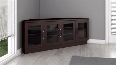 corner media cabinet 60 inch tv corner tv stand and media console in a wenge finish