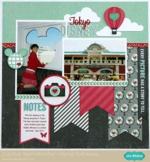 Challenge Use Themed Papers For Non Themed Layouts 3 by Times At Elks Park Scrapbook Cas Layout